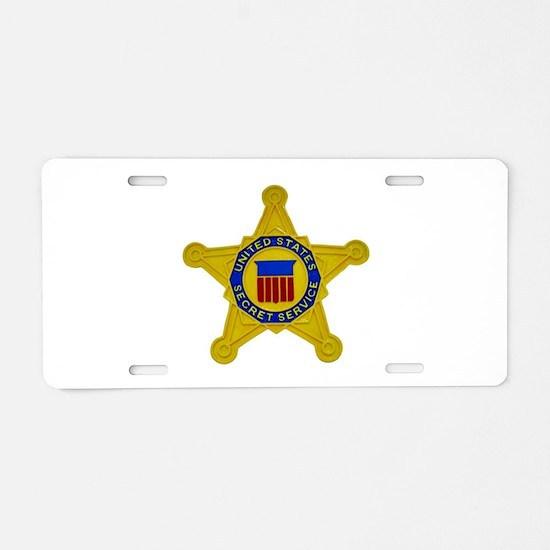 US FEDERAL AGENCY - SECRET Aluminum License Plate