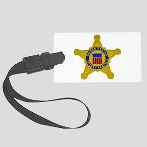 US FEDERAL AGENCY - SECRET SERVI Large Luggage Tag