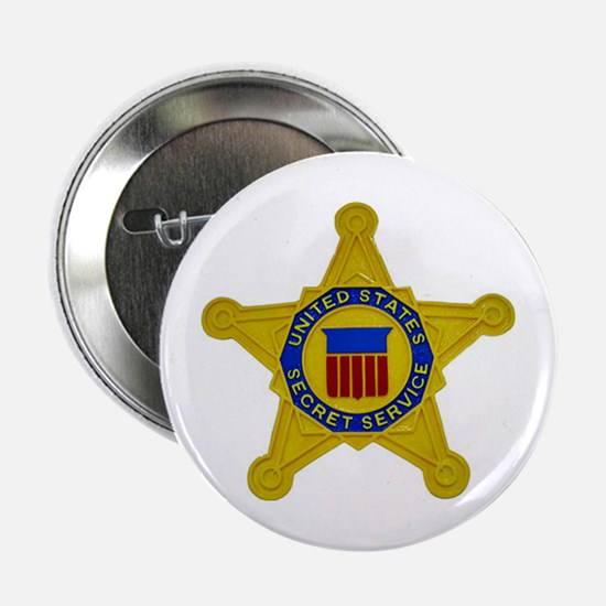 "US FEDERAL AGENCY - SECRET SERVICE 2.25"" Button"