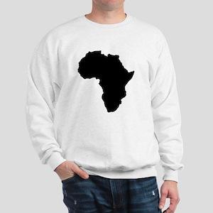 Shape map of AFRICA Sweatshirt