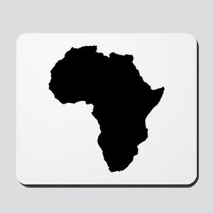 Shape map of AFRICA Mousepad