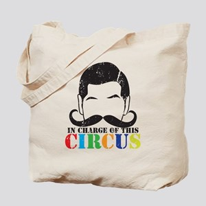 In charge of this circus Distressed versi Tote Bag