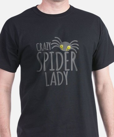 Crazy Spider lady T-Shirt
