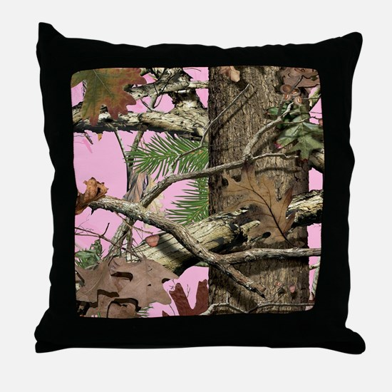Unique Camouflage Throw Pillow