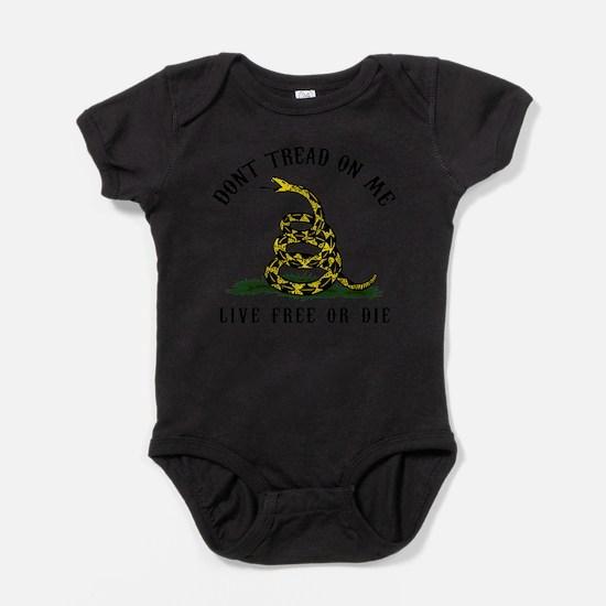 Cute Conservative tea party ribbon Baby Bodysuit