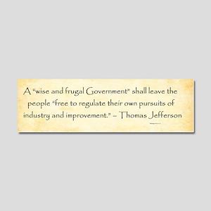 Thomas Jefferson - Regulation - Car Magnet 10 X 3