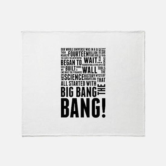 Big Bang Theory Theme Song History o Throw Blanket