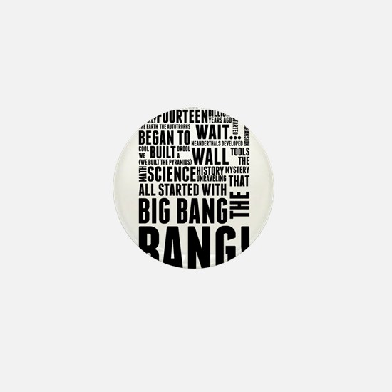 Big Bang Theory Theme Song History of Mini Button