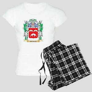 Craigh Coat of Arms - Famil Women's Light Pajamas