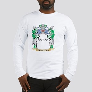 Crawford Coat of Arms - Family Long Sleeve T-Shirt