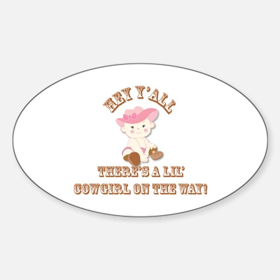 Lil' Cowgirl Decal
