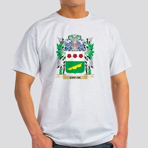 Creak Coat of Arms - Family Crest T-Shirt