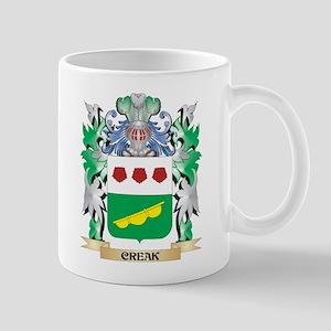 Creak Coat of Arms - Family Crest Mugs