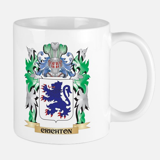 Crichton Coat of Arms - Family Crest Mugs