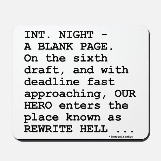Rewrite Hell Mousepad