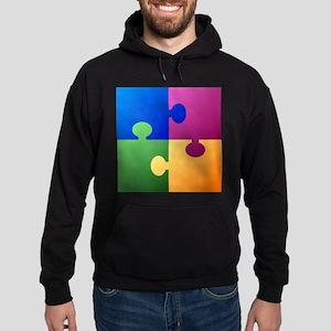 Colorful Puzzle Hoodie (dark)