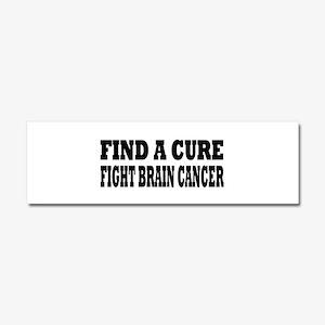 Brain Cancer Car Magnet 10 x 3