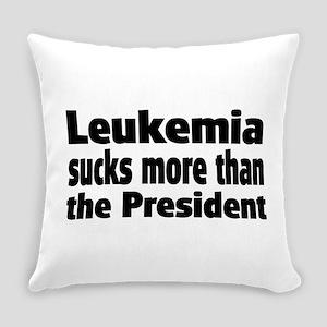 Leukemia Everyday Pillow
