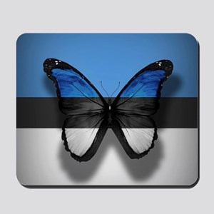 Abstract Butterfly Mousepad