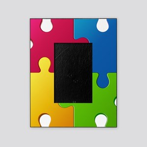 Autism Awareness Puzzle Picture Frame