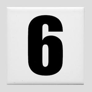 Number Six - No. 6 Tile Coaster