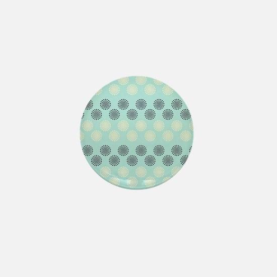 Decorative Pattern Mini Button