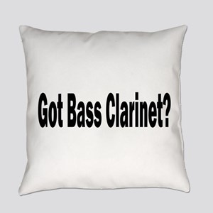 Bass Clarinet Everyday Pillow