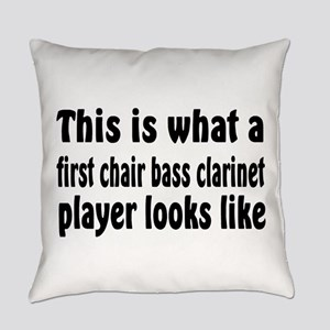 Bass Clarinet Everyday Pillow