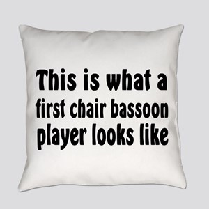 Bassoon Everyday Pillow