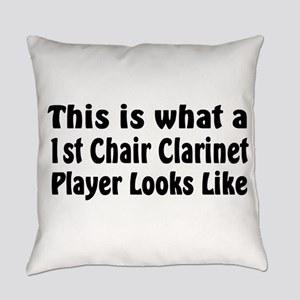 1st Chair Clarinet Everyday Pillow