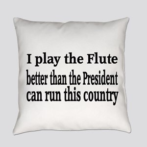 Flute Everyday Pillow