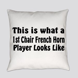 1st Chair French Horn Everyday Pillow