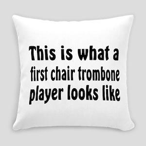 Trombone Everyday Pillow