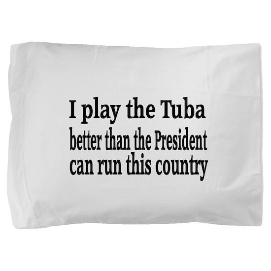 Tuba Pillow Sham