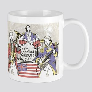 The Disgraced Generals Club Band Mugs