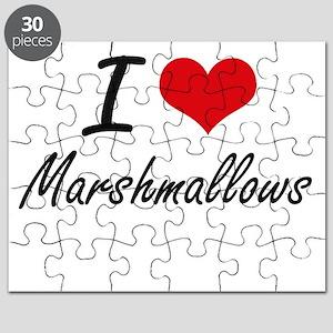 I Love Marshmallows Puzzle