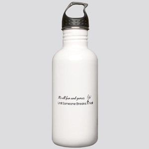 IT'S ALL FUN & GAMES.. Stainless Water Bottle 1.0L