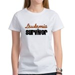 Leukemia Survivor Women's T-Shirt