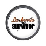 Leukemia Survivor Wall Clock