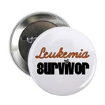 Leukemia Survivor Button