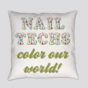 NAIL TECHS Everyday Pillow
