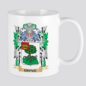 Crowe Coat of Arms - Family Crest Mugs