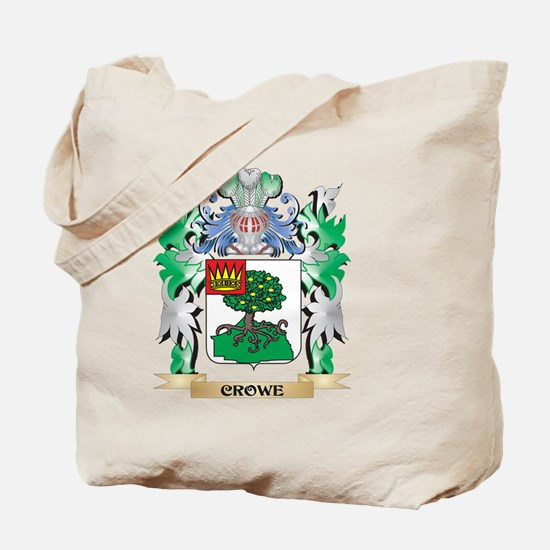 Crowe Coat of Arms - Family Crest Tote Bag