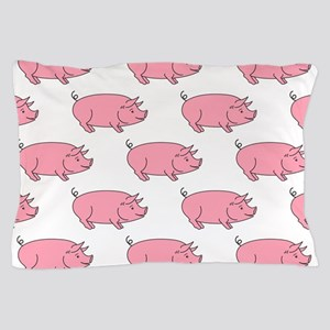 Field of Pigs Pillow Case