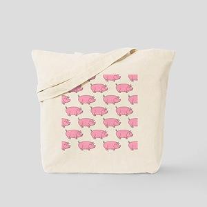 Field of Pigs Tote Bag