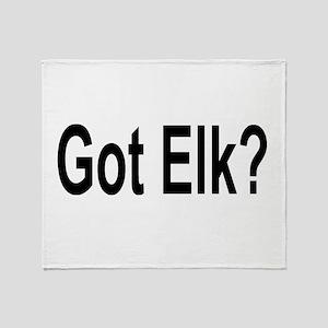 Got Elk? Throw Blanket