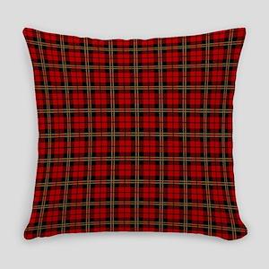 Brodie Red Scottish Tartan Everyday Pillow