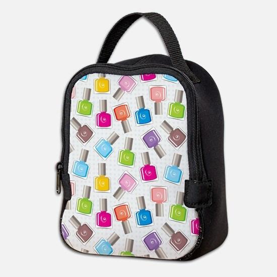 NAIL POLISH Neoprene Lunch Bag