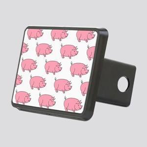 Field of Pigs Rectangular Hitch Cover