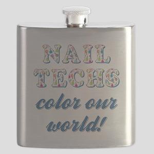 NAIL TECHS Flask